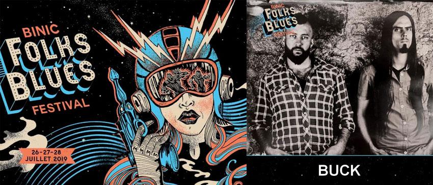 Binic Folks Blues Festival 2019 Buck