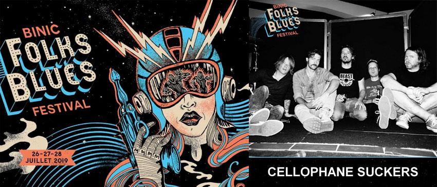 Binic Folks Blues Festival 2019 Cellophane Suckers