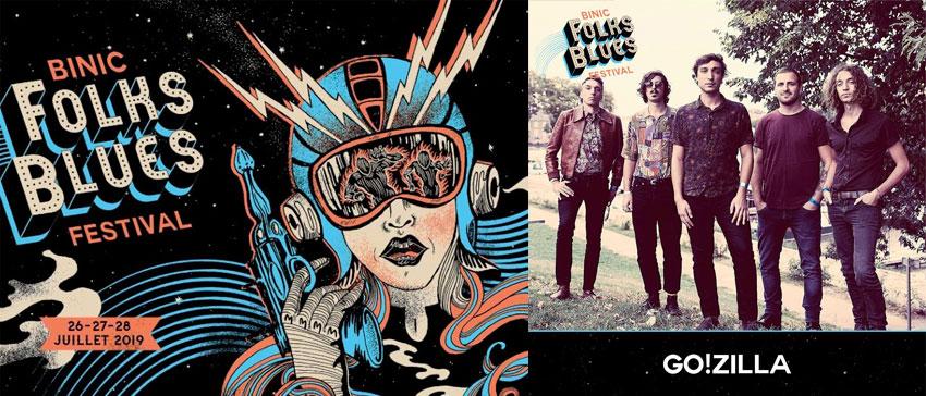 Binic Folks Blues Festival 2019 Go!Zilla