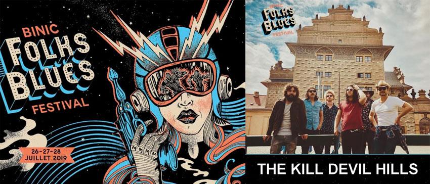 Binic Folks Blues Festival 2019 The Kill Devil Hills