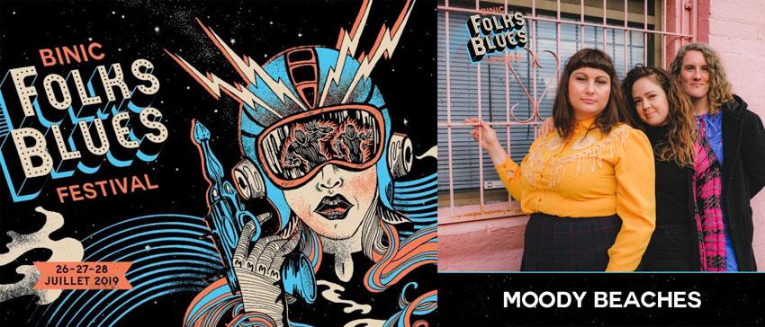 Binic Folks Blues Festival 2019 Moody Beaches