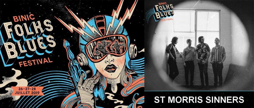 Binic Folks Blues Festival 2019 St. Morris Sinners