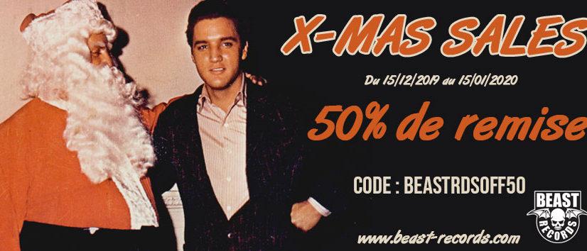 Beast Records X-Mas sales