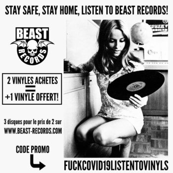 Stay safe satay home listen to Beast Records