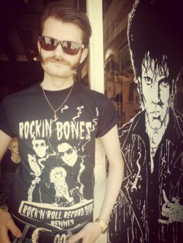 Rockin' Bones tee-shirt